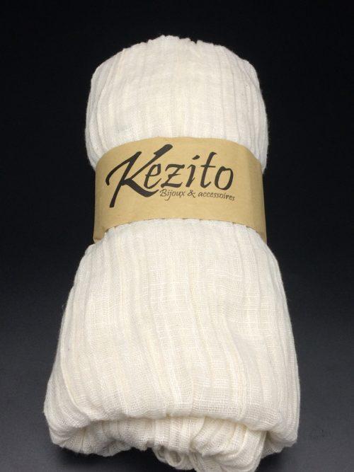 foulard 100% coton