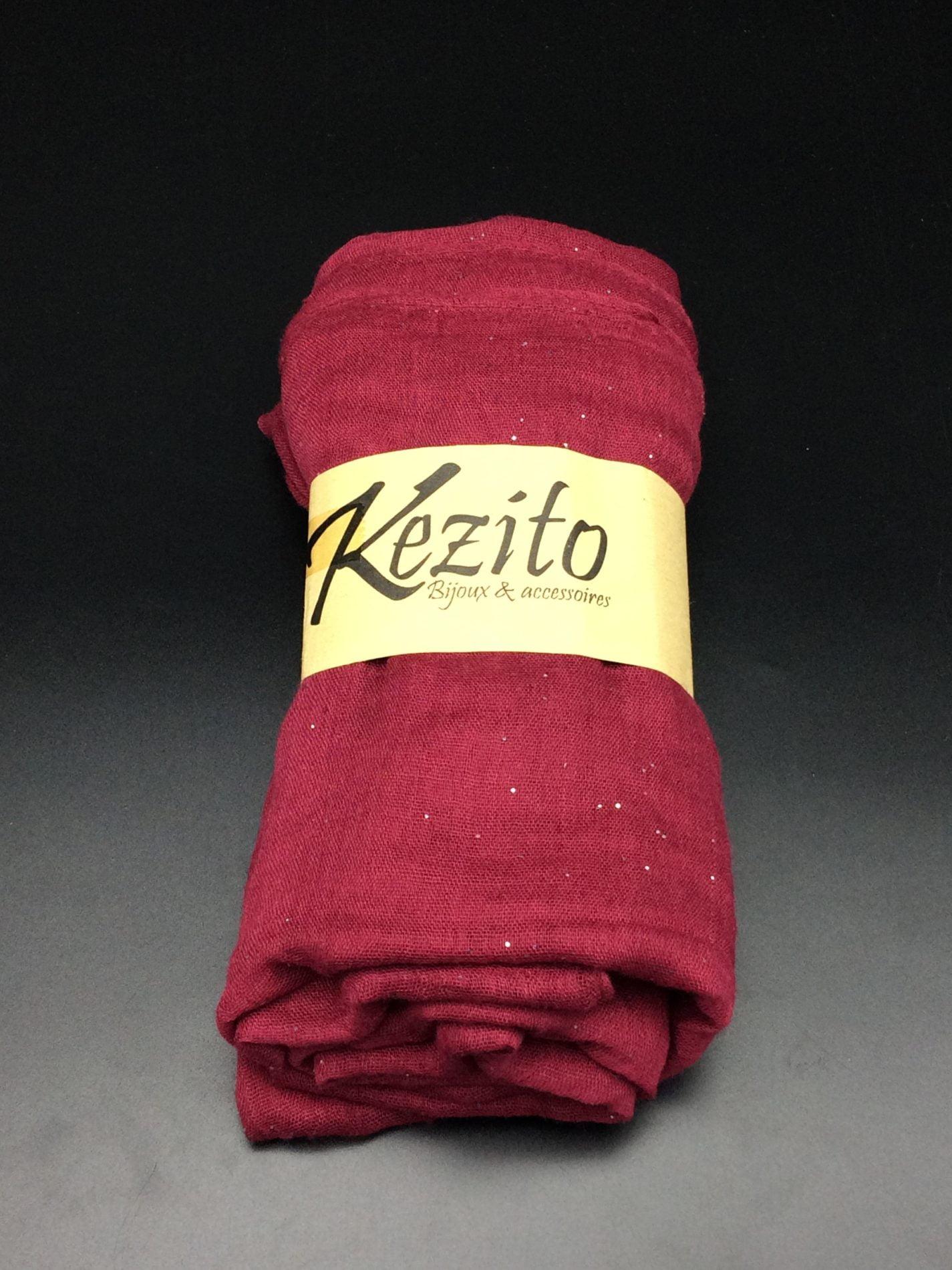 foulard pailleté
