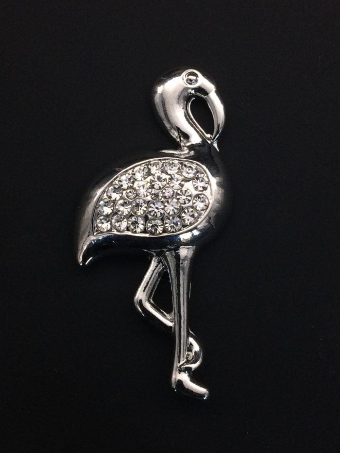 Bijou aimanté - Flamingo