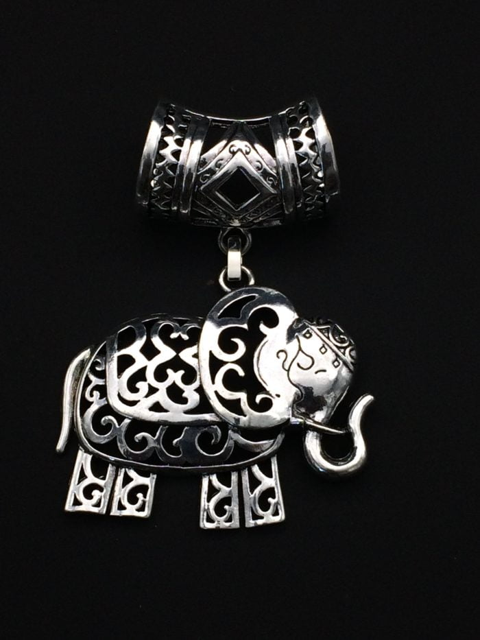 Bijou d'écharpe -Eléphant